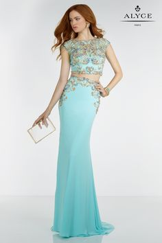 Alyce | Dress Style #6512 - front of dress view | Spring 2016