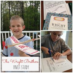 Studying the Wright Brothers - unit study resources