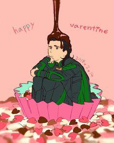 Happy Valentine with Loki ♡    Cr: こぞ