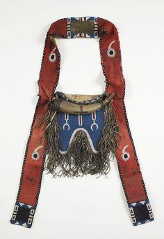 Kiowa shoulder bag. Skinner Mus. Mt Holyoke Coll. ac