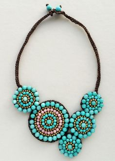 Bohemian Tribes Necklace - Handmade in NYC – Pree Brulee: