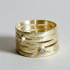 Betty Carre Layers CZ Ring