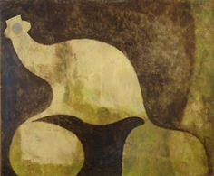 William Baziotes (US 1912–1963), Flight, oil/canvas, 1956. Washburn Gallery, NYC.