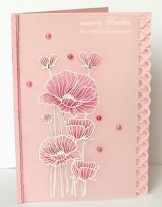 Delicate Blossoms by Rica - Cards and Paper Crafts at Splitcoaststampers
