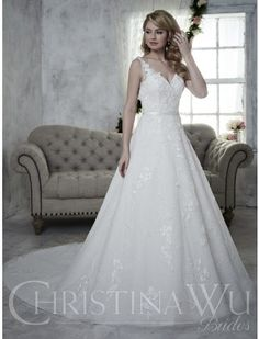New   Style 15607 - Christina Wu Brides