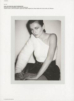Andreea Diaconu by Ezra Petronio for Self Service Issue 39 | The Fashionography