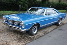 1967 Ford Galaxie 500 Door Coupe 289 V8  3 Speed Column Shift