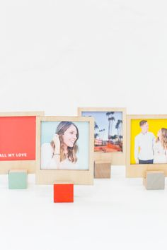 DIY Wooden Polaroid Displays (and video tutorial!)