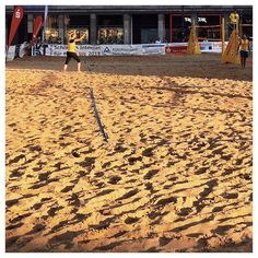 FROM A TO B | HALLE | 012 #hallesaale #beach #volleyball #sunset #sand #vscocam