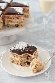 Ciasto malibu Polish Cake Recipe, Polish Recipes, Pastry Recipes, Baking Recipes, Cake Recipes, Cake Decorating For Beginners, Biscuit Cake, Mini Muffins, My Favorite Food