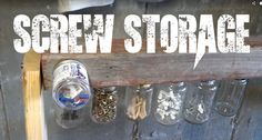 Nail and Screw Storage Ideas Unique Screw Storage Nail Storage Fastener Storage Garage Nails And Screws, Garage Storage, Nail Trends, Fasteners, Fun Nails, Nail Designs, Storage Ideas, Unique, Studio