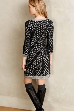 Sweaterstiched Tunic Dress - anthropologie.com