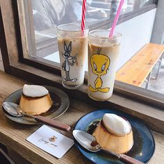 Cafe Menu, Cafe Food, Asian Cafe, Luxury Food, Cafe Interior Design, I Want To Eat, Flan, Food Design, Coffee Shop