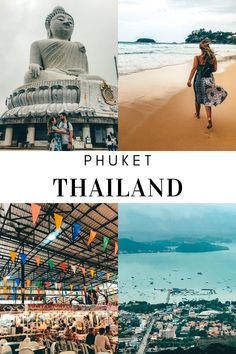 Phuket in Thailand is probably the most touristy island. Here are 6 things you must do when visiting Phuket. Phuket Thailand, Thailand Travel, Stuff To Do, Things To Do, Most Visited, Beautiful Islands, Poster, Things To Make, Thailand Destinations