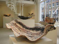 Claudi Casanovas: Works from Japan, 8 - 30 Oct, Galerie Besson Ceramic Pinch Pots, Ceramic Clay, Ceramic Plates, Ceramic Pottery, Pottery Art, Modern Ceramics, Contemporary Ceramics, Abstract Sculpture, Sculpture Art