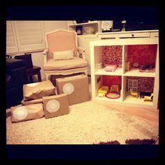 love this diy dollshouse