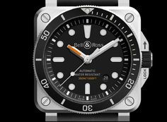 Bell & Ross BR03-92 Diver dial CU