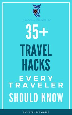 Travel hacks make your trip smarter, cheaper and better.   Travel hacks / Travel tips / Travel on a budget / Budget traveling / Travel hacking / The best travel hacks / The best travel tips / Travel cheaper / Travel smarter / Travel better / How to find cheap flights / How to pack like a pro /
