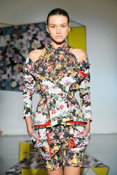 My pick from NYFW: Brood By Serkan Sarier Spring 2013 will unapologetically assault your senses.