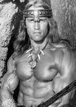 Arnold Schwarzenegger dans Conan le barbare, film sorti en 1982