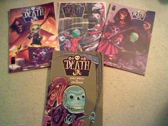 Death Jr Vol #2 : #1-3 - Complete set - Image Comics, Gary Whitta ,Ted Naifeh