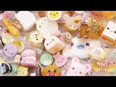 DIY Rilakkuma Macaron Squishy Tutorial - How To - YouTube Ag doll stuff crafts Pinterest ...