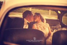 wedding car rain