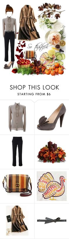 """Happy Thanksgiving"" by maryann-bunt-deile ❤ liked on Polyvore featuring Martha Stewart, Valentino, Prada, Golden Goose, Tory Burch, BCBGMAXAZRIA and C. Jeré"
