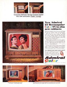 Vintage Tv Ads, Ballet Couple, Color Television, Retro Chic, Print Ads, Bold Colors, Opera, Illustration Art, Advertising