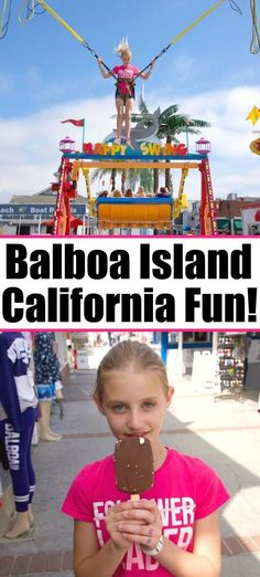 Balboa Fun Zone in Newport Beach is a fun place for families. There's the Balboa pier, beach, ride the ferry, and you can rent a boat too. Best Places To Vacation, Cool Places To Visit, Places To Travel, Travel Destinations, Travel Things, Newport Beach California, California Travel, Southern California, Travel With Kids
