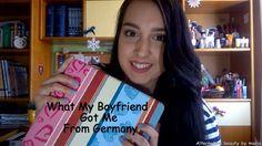 What My Boyfriend Got Me From Germany| Alternative beauty