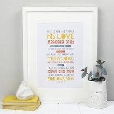 This is Love – 1 John 4 – Print