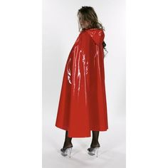 Red Latex Cape 5