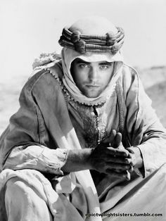 """Who's excited to see Rob play T.E. Lawrence in """"Queen of the Desert?"""""""