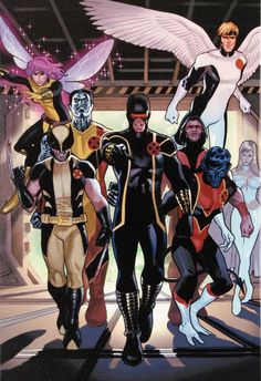 X-Men Annual Legacy #1 is a Very Limited Edition Fine Art Giclee Print on Stretched Canvas by the Spanish Comic Book Artist Daniel Acuna and Presented by Marvel Comics. This Giclee is Numbered in Vers