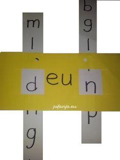 Met de schuifletter kun je extra aandacht besteden aan het leren lezen en werk je ondertussen ook aan spelling. Goed in te zetten bij zelfstandig werken Spelling For Kids, Family Comes First, Special Needs, Circuit, Language, Letters, Teaching, Education, Dyslexia