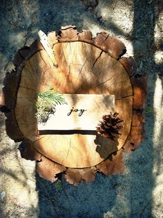"""""""Joy"""" reclaimed wood burned sign by Tektone Wood"""
