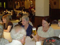 pic 98. Shot 8.  L-R: Carol, not sure who and Chermin 2007