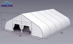 Сердцевидный шатёр 20*25м (серия TFS) Email:marketing3@shelter-structures.com or sashazhang@shelter-structures.com Shelter Tent