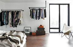 Kleiderständer selber bauen - Ersatz für den Kleiderschrank