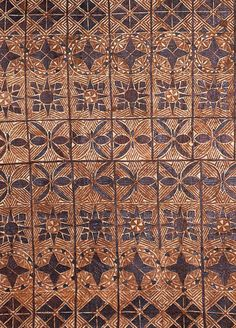 POLYNESIAN pattern. Polynesia was explored and parts discovered by capt James Cook from Middlesbrough.