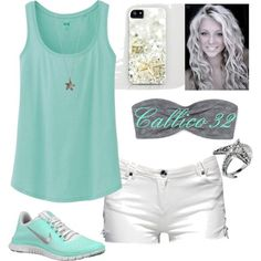 For More Fashion Visit Our Website cute summer outfits, cute summer outfits … Sporty Outfits, Nike Outfits, Cute Summer Outfits, Summer Wear, Outfits For Teens, Spring Summer Fashion, Spring Outfits, Summer Clothes, Spring 2014