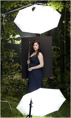 Strobist: On Assignment: Dahlia Flute Duo