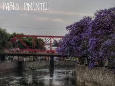 El puente rojo en Tlaxcala, foto de Pablo Pimentel