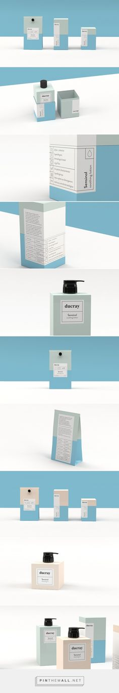 Ducray Sensinol by Tone Næss and Brage Istad Brenna-Lund @ Filomena Spa… Bio Packaging, Ecommerce Packaging, Skincare Packaging, Print Packaging, Cosmetic Packaging, Beauty Packaging, Product Packaging, Skincare Logo, Design Packaging