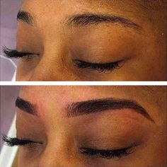 Or, if you're not into doing your brows every day, you can get them professionally tinted.