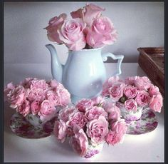 Teacups And Pink Roses Pictures, Photos, and Images for Facebook ...
