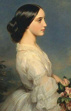 В моей душе запечатлен портрет одной прекрасной дамы: романтичное волшебство женских портретов Franz Xaver Winterhalter - Ярмарка Мастеров - ручная работа, handmade
