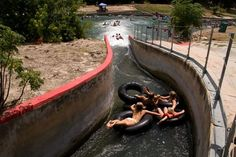 "Comal River | New Braunfels, Texas. "" Buy a $13 tube from Academy, $12 pump, drop off your group at Prince Solm Park, 2-3 hour float, get out at the last tuber exit, deflate your tubes. One person can walk back to the park in 10 minutes, get the car. Versus $25 per person for the tube companies. Read the river regulations, yes they are more strict, but the decrease in pollution and rowdiness are worth it."""