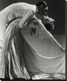 Vanity Fair by Horst P. Horst 1930s, dance team Jack Holland and June Hart